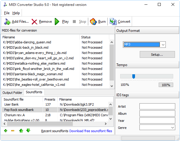 MIDI Converter Studio 9 0