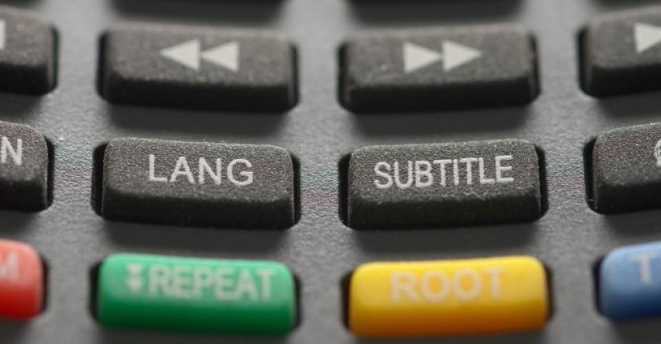 Languages and subtitles