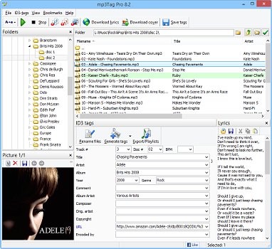 Professional MP3 Tag Editor, ID3 Tagger, MP3 Renamer