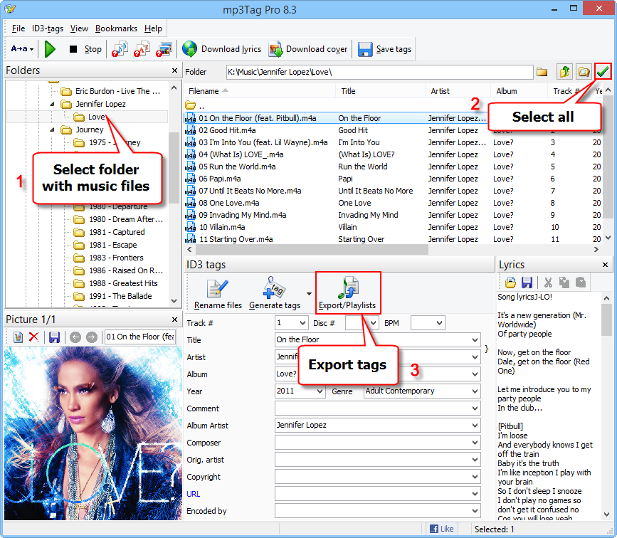 Export Tags To CSV Or Excel