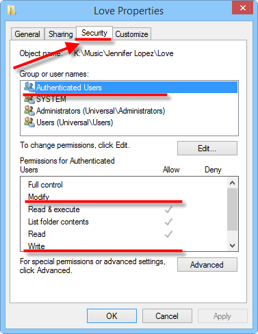 how to change file permissions