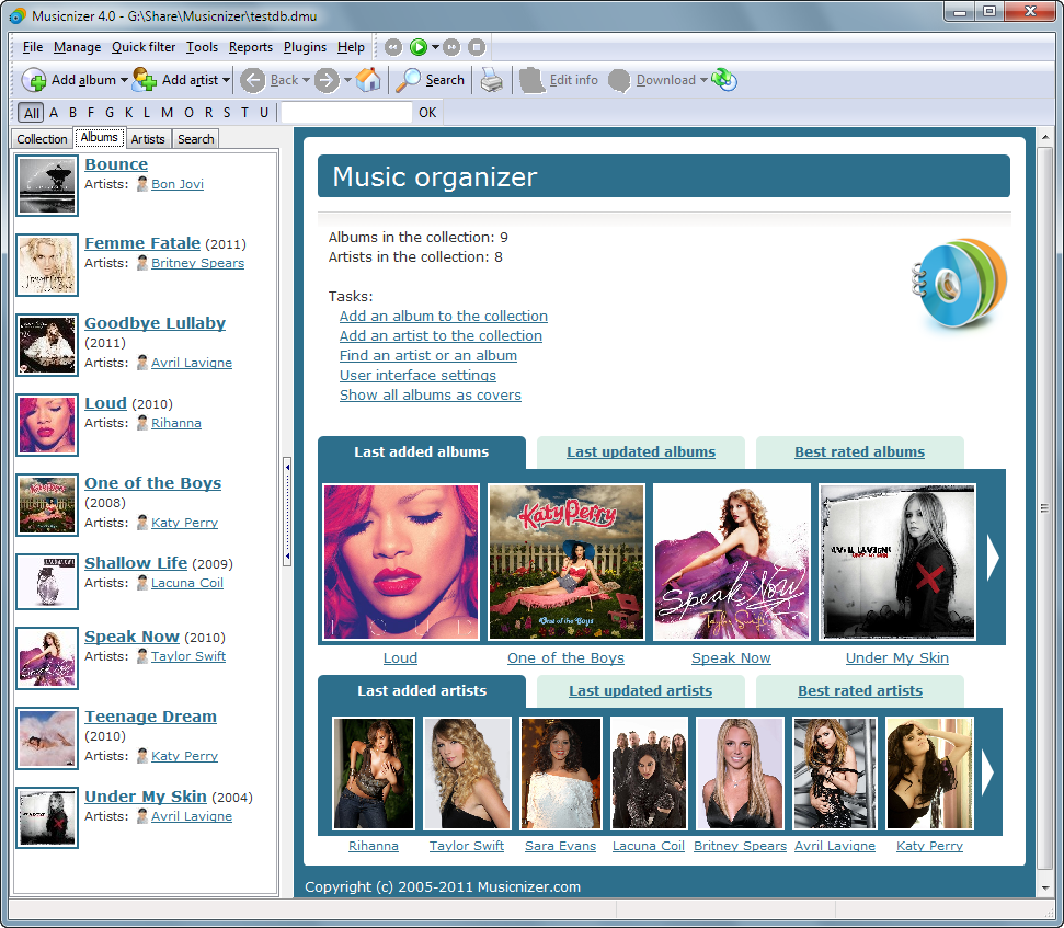 Multimedia Software by ManiacTools