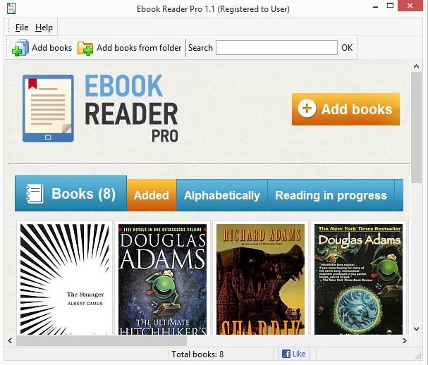 Ebook Reader Pro